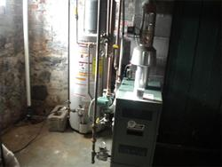 16 Brook Street heating & hot water in basement